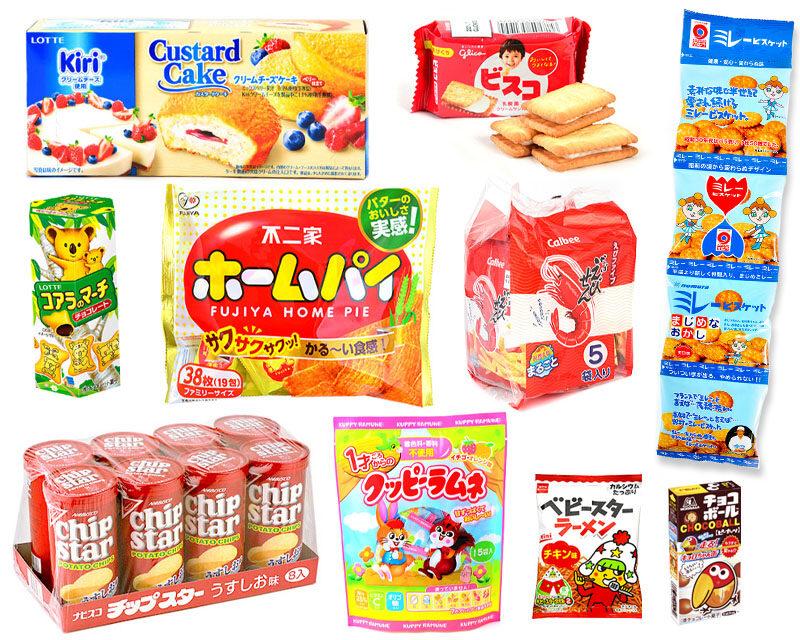 定番のコンビニ・スーパー系お菓子